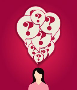 woman w questions